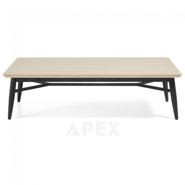 Stunning High Quality Ava Coffee Tables Pertaining To Ava Coffee Table Top In White American Oak And Metal Barons (View 24 of 50)