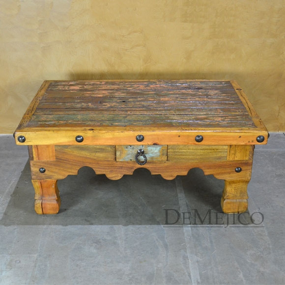Stunning High Quality Colonial Coffee Tables With Regard To Unique Rustic Coffee Tables Rustic Living Room Furniture (Image 40 of 50)