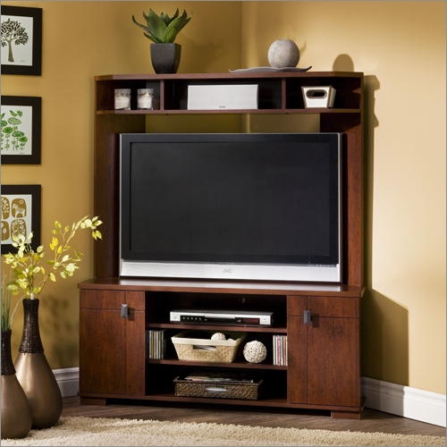 Stunning High Quality Corner TV Stands For 50 Inch TV For City Life 50 Inch Tv Stand In Honeydew South Shore Furniture (Image 43 of 50)