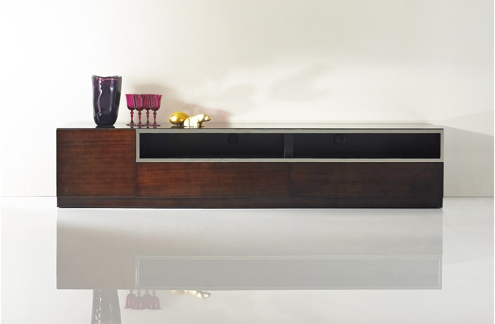 Stunning High Quality Dark Wood TV Stands Regarding Tv Stands For Lcd Flat Screens Plasma Media Storage Units (View 10 of 50)