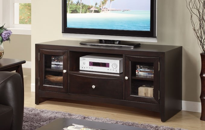 Stunning High Quality Espresso TV Cabinets Throughout Espresso Tv Stand F4519 Lowest Price Sofa Sectional Bed Table (Image 41 of 50)