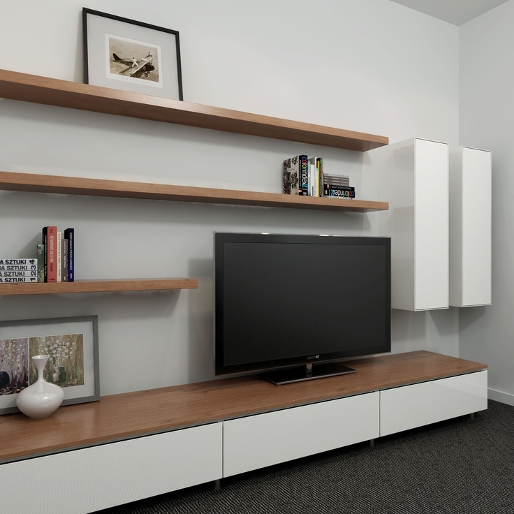 Stunning High Quality Long White TV Cabinets In Best 25 Tv Wall Units Ideas Only On Pinterest Wall Units Media (Image 43 of 50)