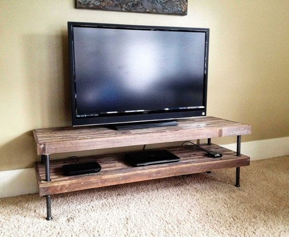 Stunning High Quality Reclaimed Wood And Metal TV Stands In Best 10 Reclaimed Wood Tv Stand Ideas On Pinterest Rustic Wood (Image 42 of 50)