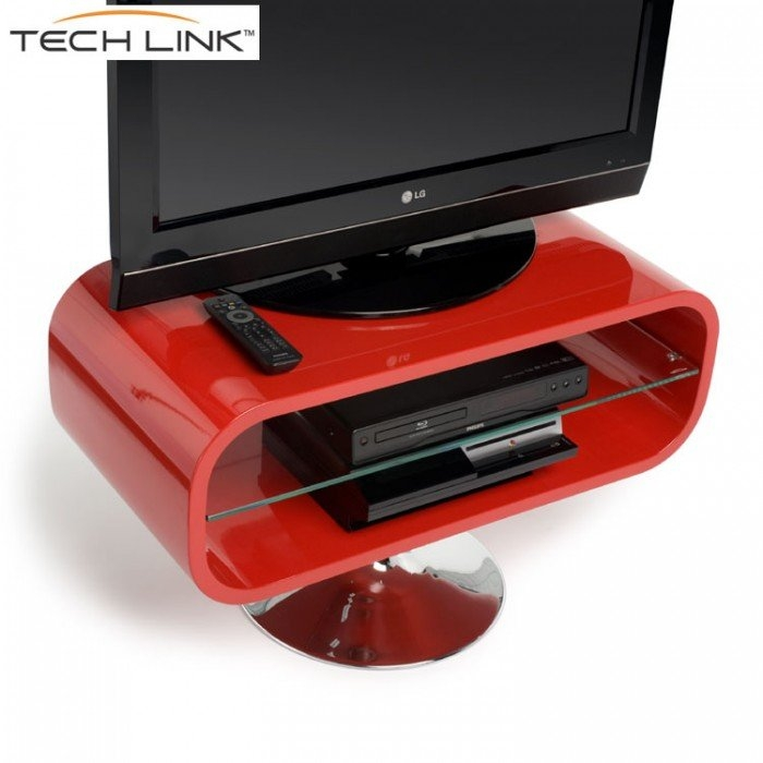 Stunning High Quality Red Gloss TV Stands With Techlink Op80r Opod Gloss Red Tv Stand (View 25 of 50)