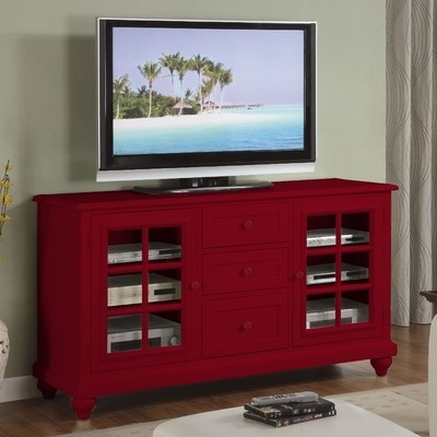 Stunning High Quality Red TV Stands Throughout Best 25 Red Tv Stand Ideas On Pinterest Red Wood Stain (Image 42 of 50)
