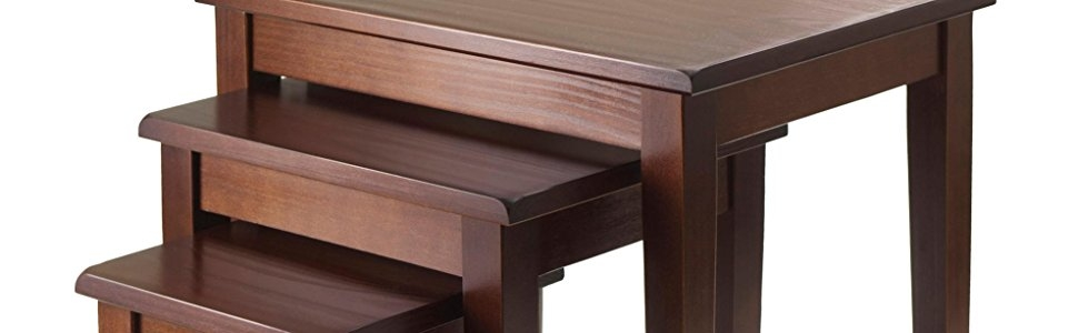 Stunning High Quality Stackable Coffee Tables Intended For Amazon Winsome Wood Nesting Table Walnut Kitchen Dining (View 38 of 50)