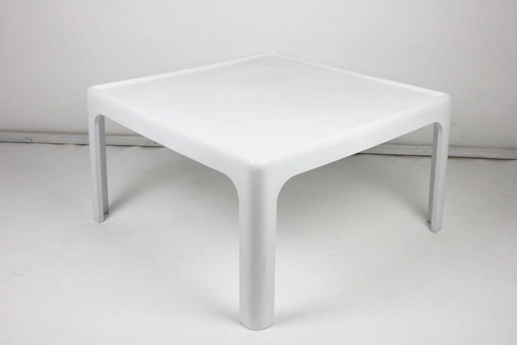 Stunning High Quality White Retro Coffee Tables Intended For Vintage Coffee Table Peter Ghyczy For Horn Collection 1969 For (View 28 of 50)