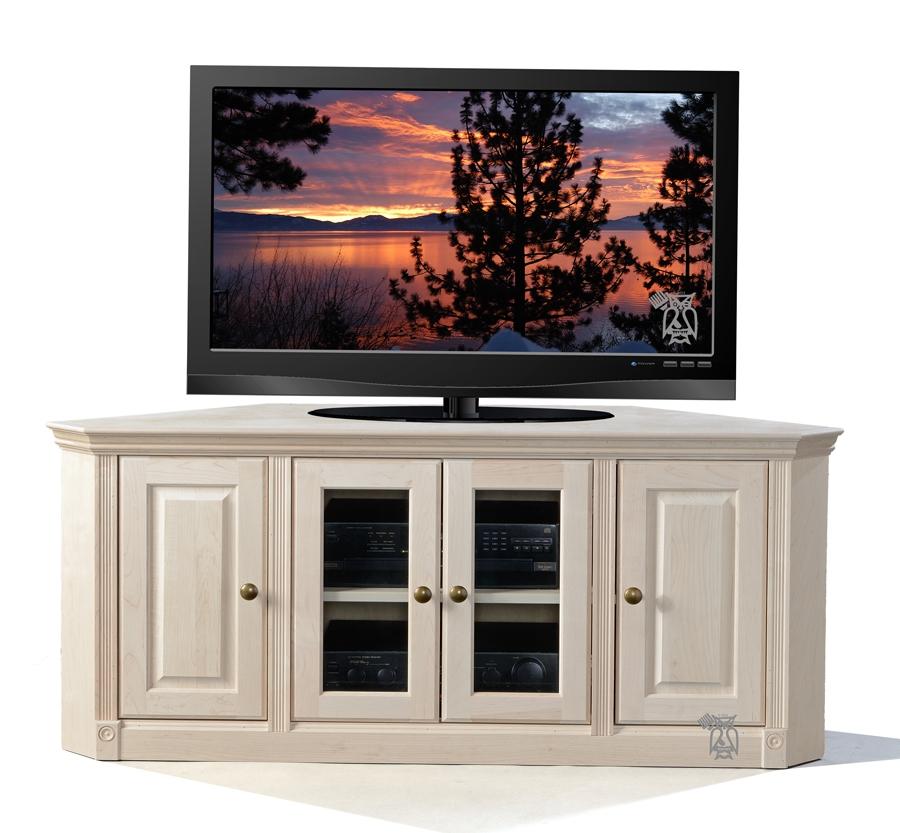 Stunning High Quality Wooden Corner TV Stands Regarding Hoot Judkins Furnituresan Franciscosan Josebay Areacorner Tv (Image 45 of 50)