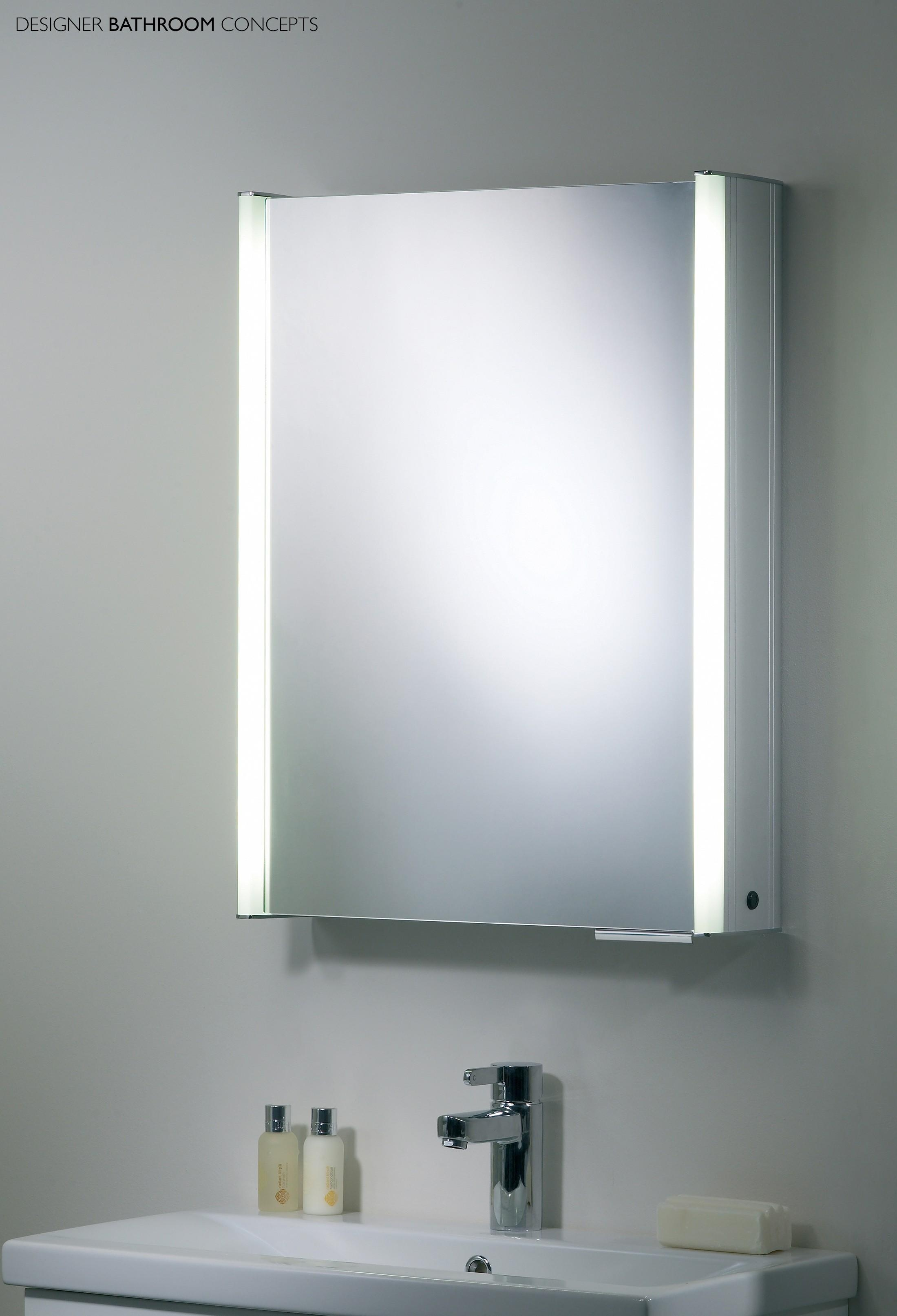 Stunning Ideas Cabinet Bathroom Mirror Mirror Bathroom Cabinets Throughout Large Illuminated Mirror (View 10 of 20)