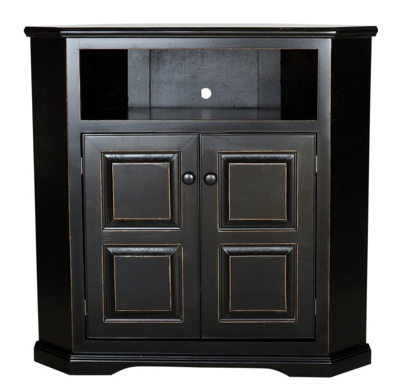 Stunning Latest Black Wood Corner TV Stands Inside Shop 149 Corner Tv Stands (Image 46 of 50)