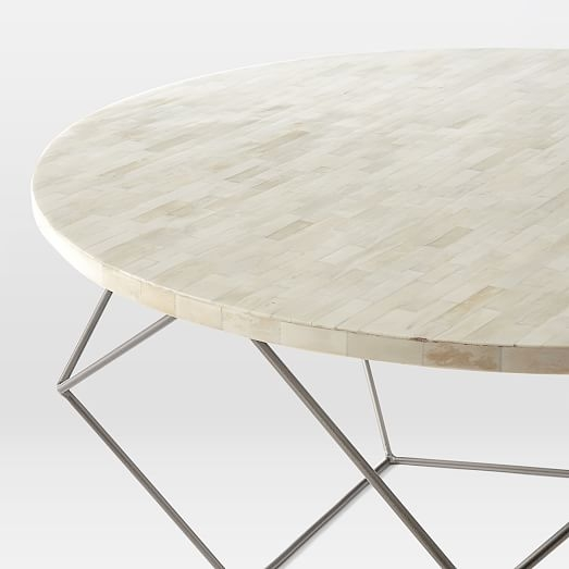 Stunning Latest C Coffee Tables Within Origami Coffee Table Large West Elm (View 43 of 50)