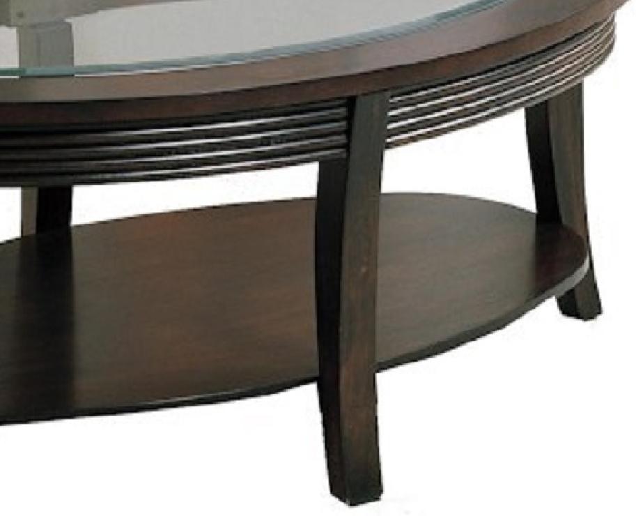 Stunning Latest Dark Brown Coffee Tables Inside 4253 01 Simone Dark Brown Cocktail Coffee Table (View 41 of 50)