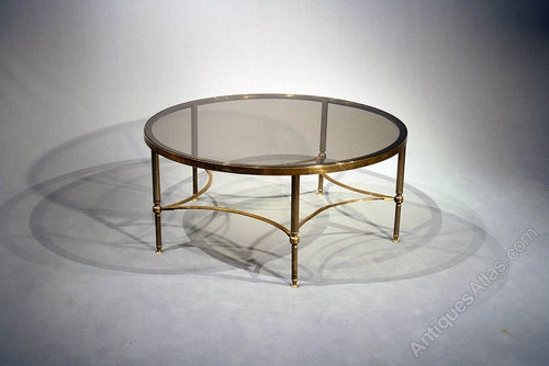 Stunning Latest Large Glass Coffee Tables Intended For Coffee Table Large Round Glass Coffee Table Large Brass Round (Image 42 of 50)