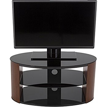 Stunning Latest Oval Glass TV Stands With Avf Fs800reew Reed Oval Glass Tv Stand For 24 Inch 26 Amazonco (View 38 of 50)