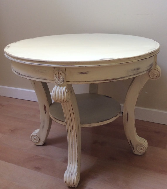 Stunning Latest Retro White Coffee Tables Pertaining To Vintage White Coffee Table (Image 42 of 50)