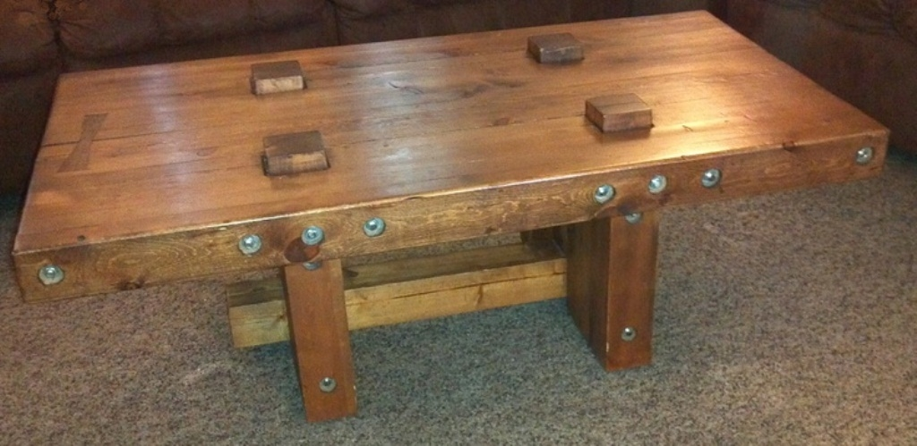 Stunning Latest Rustic Storage DIY Coffee Tables Within Furniture Rustic Coffee Table Plans Storage Coffee Table Plans (Image 43 of 50)