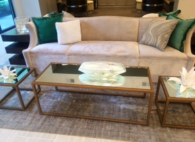 Stunning Latest Small Mirrored Coffee Tables Regarding Keeping It Light Decor Tips For Small Spaces Frame My Mirror (View 33 of 50)