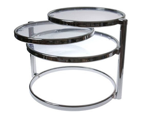 Stunning Latest Swivel Coffee Tables Regarding 20 Inimitable Styles Of Swiveling Glass Coffee Table Home Design (View 10 of 50)