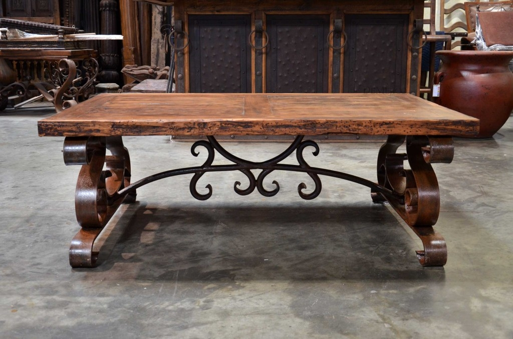Stunning Latest Wrought Iron Coffee Tables With Mexican Wrought Iron Coffee Tables Vintage Marble Wrought Iron (Image 44 of 50)