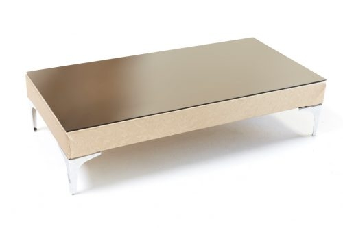 Stunning New Chrome Leg Coffee Tables Within Champagne Textured Chrome Leg Coffee Table Prop Stars Cape Town (Image 44 of 50)