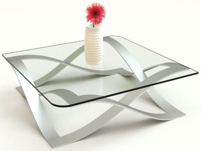 Stunning New Contemporary Glass Coffee Tables  With Small Glass Coffee Tables (Image 45 of 50)