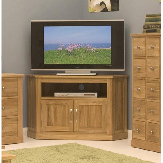 Stunning New Dark Oak Corner TV Cabinets Pertaining To Oak Tv Corner Cabinet Bar Cabinet (Image 42 of 50)