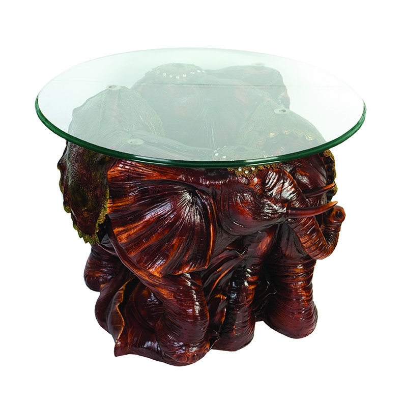 Stunning New Elephant Glass Top Coffee Tables Intended For Antique Elephant Table Antique Elephant Table Suppliers And (Image 40 of 50)