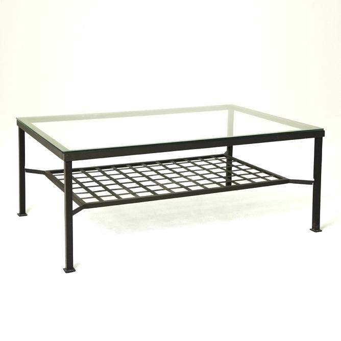 Stunning New Glass And Black Metal Coffee Table Regarding Coffee Table Anya Antique Brass Glass Metal Coffee Table (Image 42 of 50)