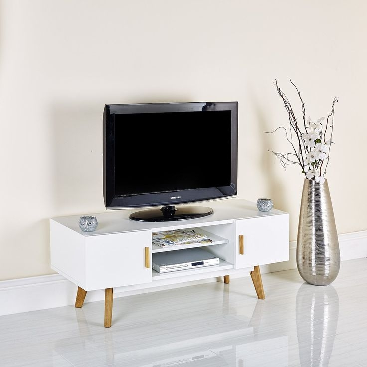 Stunning New Glossy White TV Stands With Regard To Tv Stands Amusing White Tv Stand Walmart 2017 Design Kmart Tv (Image 43 of 50)