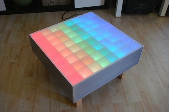Stunning New Led Coffee Tables Inside Rgb Led Coffee Table (Image 45 of 50)