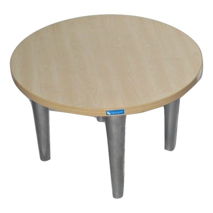 Stunning New Round Beech Coffee Tables Within Komac Reef Round Top Bottom 600mm Diameter Whitebeech Coffee Table (Image 43 of 50)