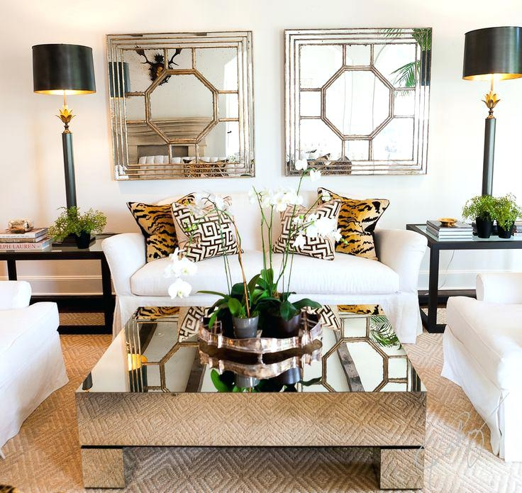 Stunning New Round Mirrored Coffee Tables Within Gold Mirrored Coffee Table Tray Vanities Decoration (Image 38 of 40)