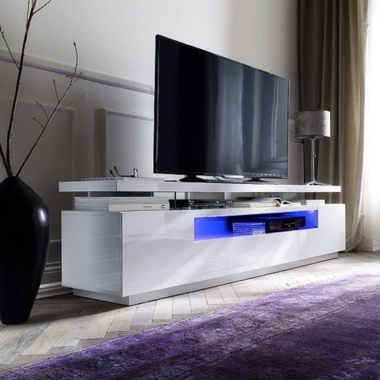 Stunning New White Gloss Oval TV Stands Throughout Best 25 Lcd Tv Stand Ideas Only On Pinterest Ikea Living Room (View 34 of 50)