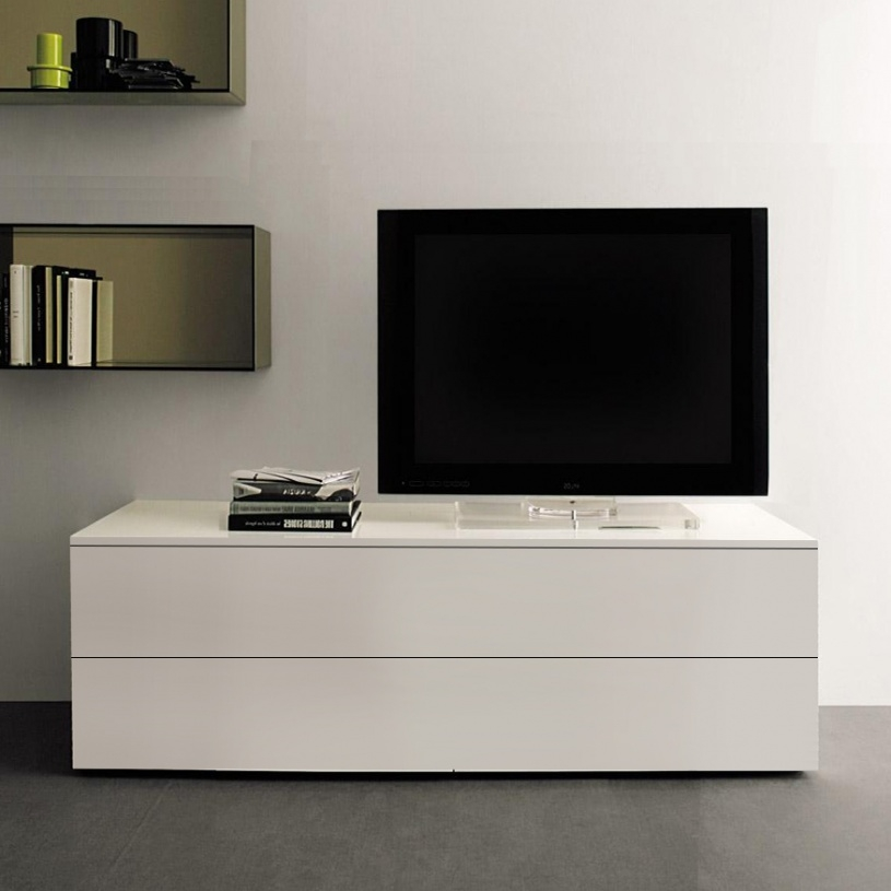 Stunning New White Gloss TV Stands With Drawers Inside Space White Tv Stand (Image 42 of 50)