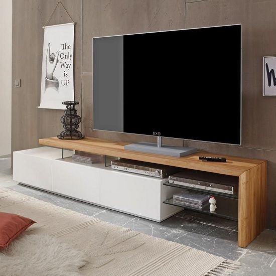 Stunning New White Modern TV Stands Intended For Best 25 Modern Tv Stands Ideas On Pinterest Wall Tv Stand Lcd (Image 44 of 50)