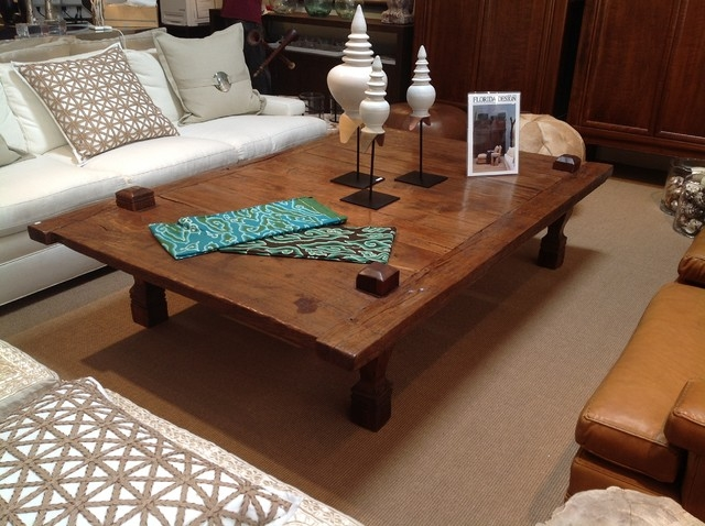 Stunning Popular Big Square Coffee Tables With Regard To Oversized Square Coffee Tables Idi Design (View 12 of 50)