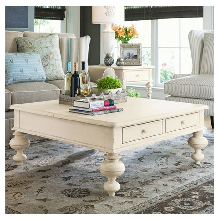Stunning Popular Coffee Tables Top Lifts Up Intended For Wildon Home Paula Deen Home Put Your Feet Up Coffee Table With (View 23 of 50)