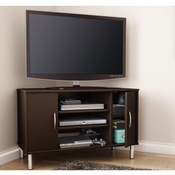Stunning Popular Contemporary Corner TV Stands Throughout 17 Best Tv Stands Images On Pinterest Corner Tv Stands For The (View 43 of 50)