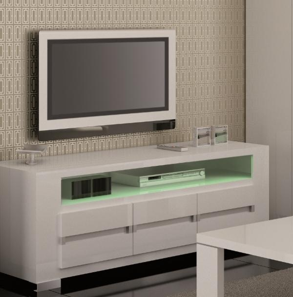 Stunning Popular Cream Gloss TV Stands Inside Black Tv Units Tv Stands Contemporary Furniture Trendy (Image 44 of 50)