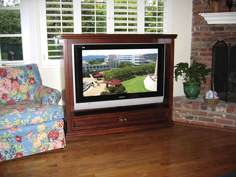 Stunning Popular Freestanding TV Stands In Plasma Tv Stand Low Profile Entertainment Cabinet Custom (View 5 of 50)
