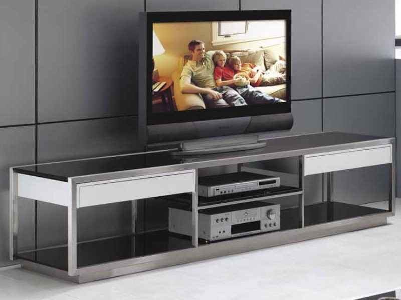 Stunning Popular Glass TV Cabinets Throughout Tv Stands Glass Tv Stands For 60 Inch 60 Inch Tv Stands For Flat (Image 43 of 50)