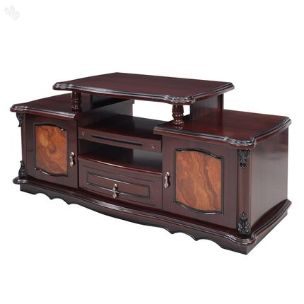 Stunning Popular Honey Oak TV Stands With Regard To Buy Royaloak Rose Tv Stand With Honey Brown Finish Online India (View 25 of 50)