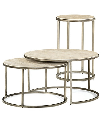 Stunning Popular Nest Coffee Tables Regarding Coffee Table Monterey Round Tables 2 Piece Set Nesting Coffee (Image 40 of 50)