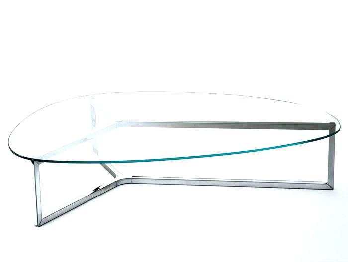 Stunning Popular Oval Shaped Glass Coffee Tables For Oval Glass Coffee Table Set Image Of Modern Oval Glass Coffee (Image 45 of 50)
