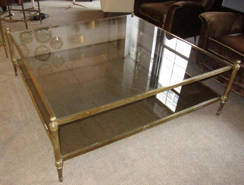 Stunning Popular Oversized Square Coffee Tables In Beautiful Oversized Square Coffee Tables (View 27 of 50)