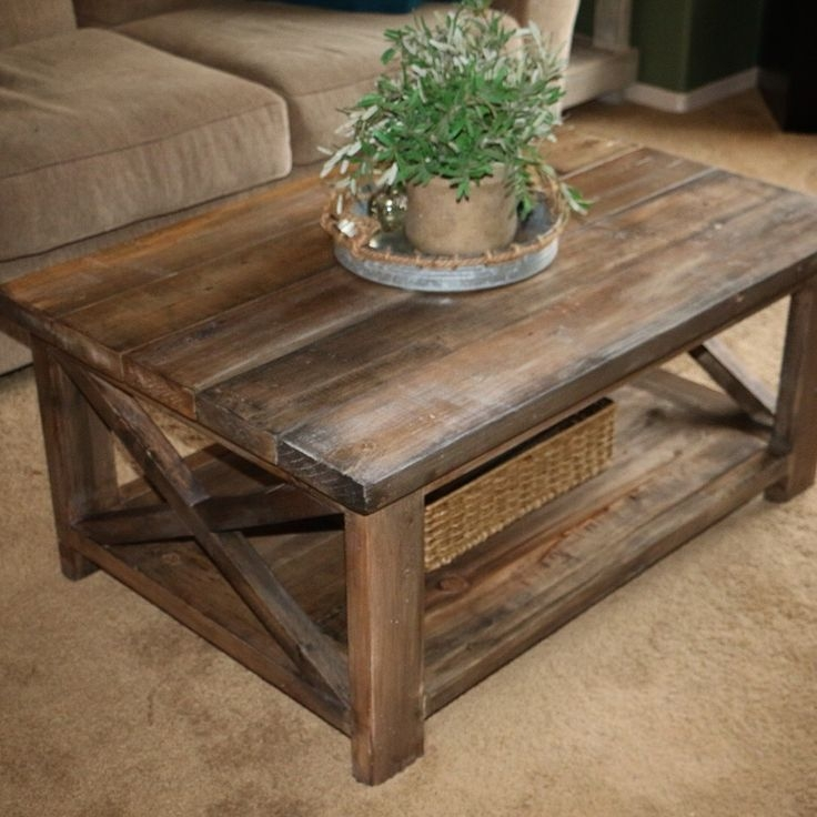 Stunning Popular Rustic Coffee Tables With Bottom Shelf For Best 25 Coffee Tables Ideas Only On Pinterest Diy Coffee Table (View 13 of 50)