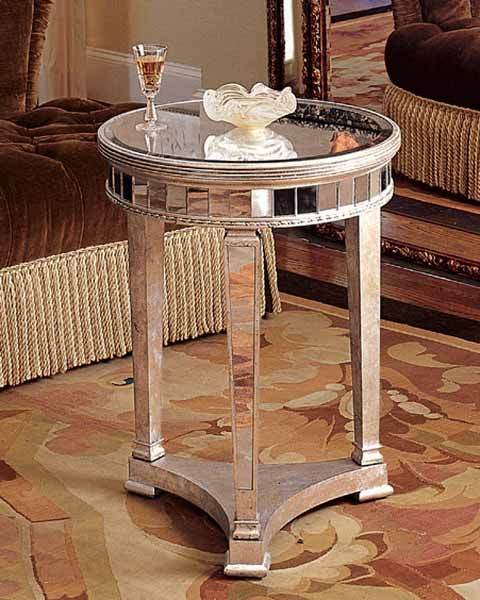 Stunning Popular Small Mirrored Coffee Tables Regarding Mirrored Console Table And Coffee Table Designs Stretching Small (View 2 of 50)