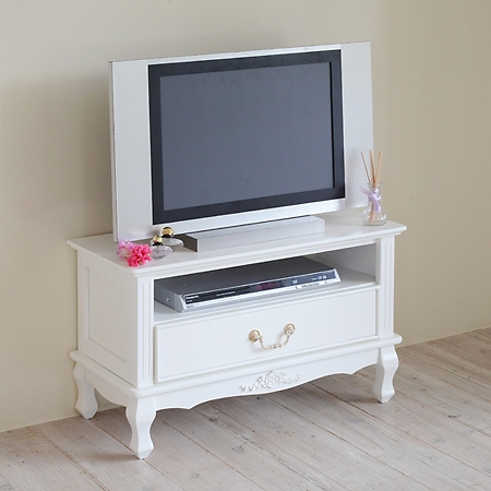 Stunning Popular Small White TV Stands Inside Interior Palette Rakuten Global Market White Tv Stand Helpful (Image 42 of 50)