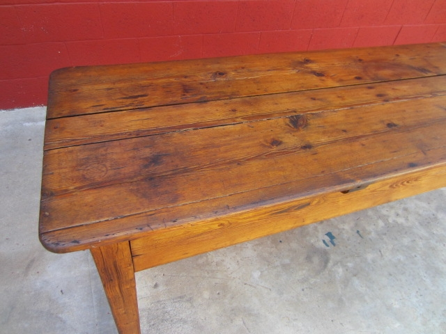 Stunning Preferred Antique Pine Coffee Tables Inside English Antique Harvest Table Pine Table Antique Primitive Furniture (Image 42 of 50)