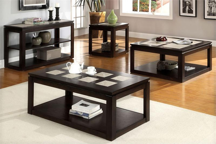 Stunning Preferred Contemporary Coffee Table Sets Inside Modern Coffee And End Table Sets (View 42 of 50)